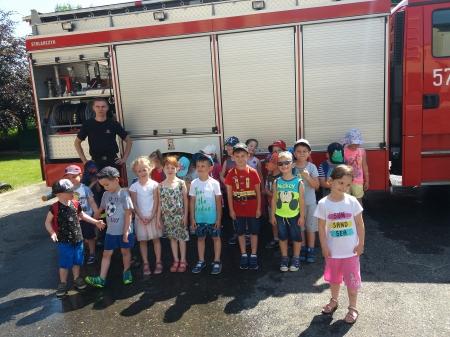Wycieczka do Komendy Straży Pożarnej