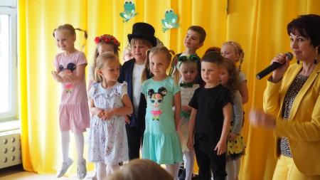 Festiwal Piosenki Przedszkolnej  - III miejsce Agnieszki